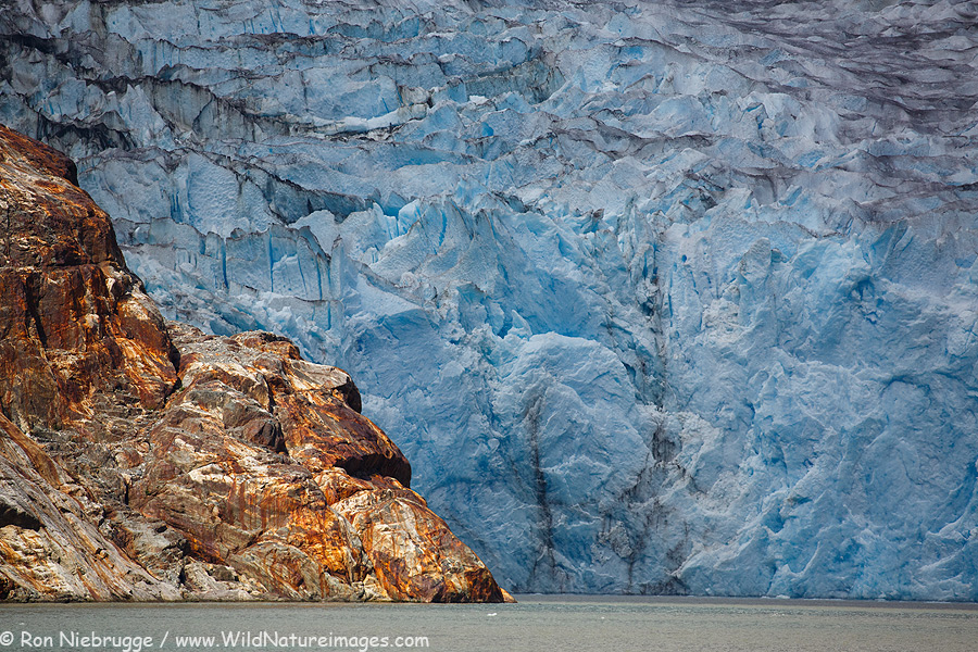 North Sawyer Glacier, Tracy Arm, Alaska.