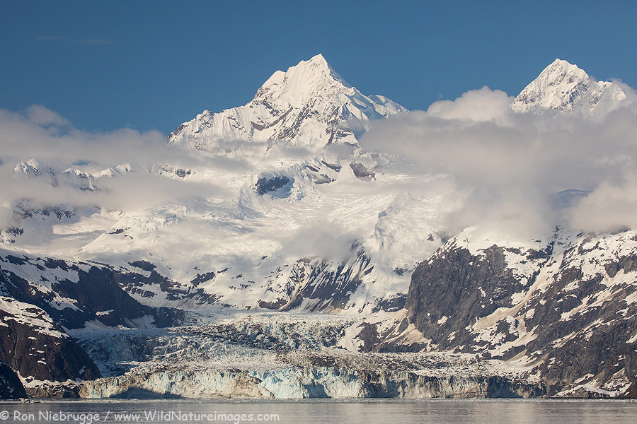 Johns Hopkins Glacier, Glacier Bay National Park, Alaska.