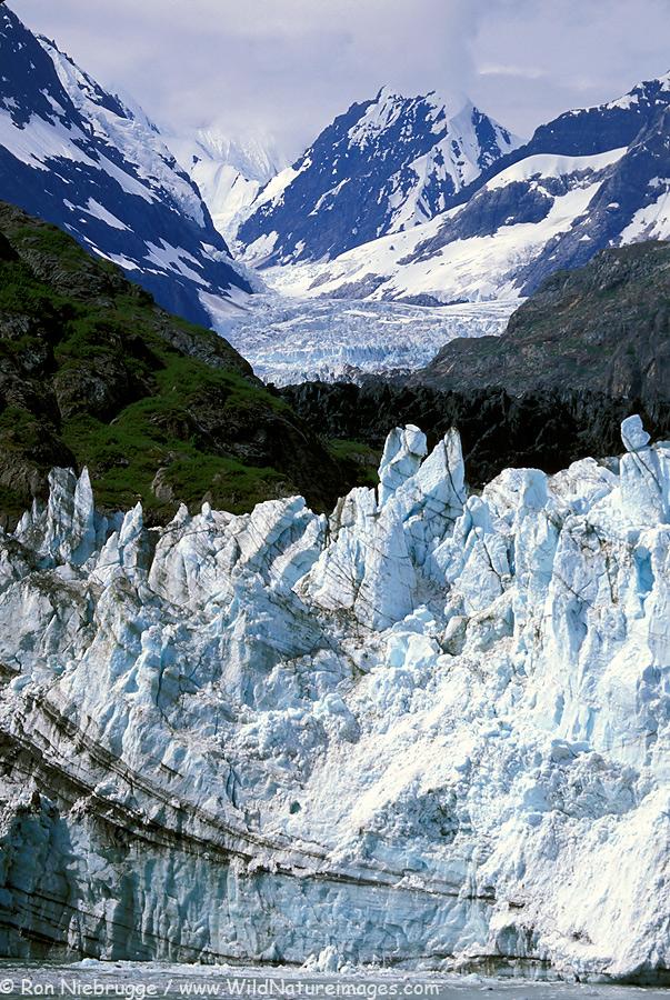 Margerie Glacier.  Glacier Bay National Park, Alaska.
