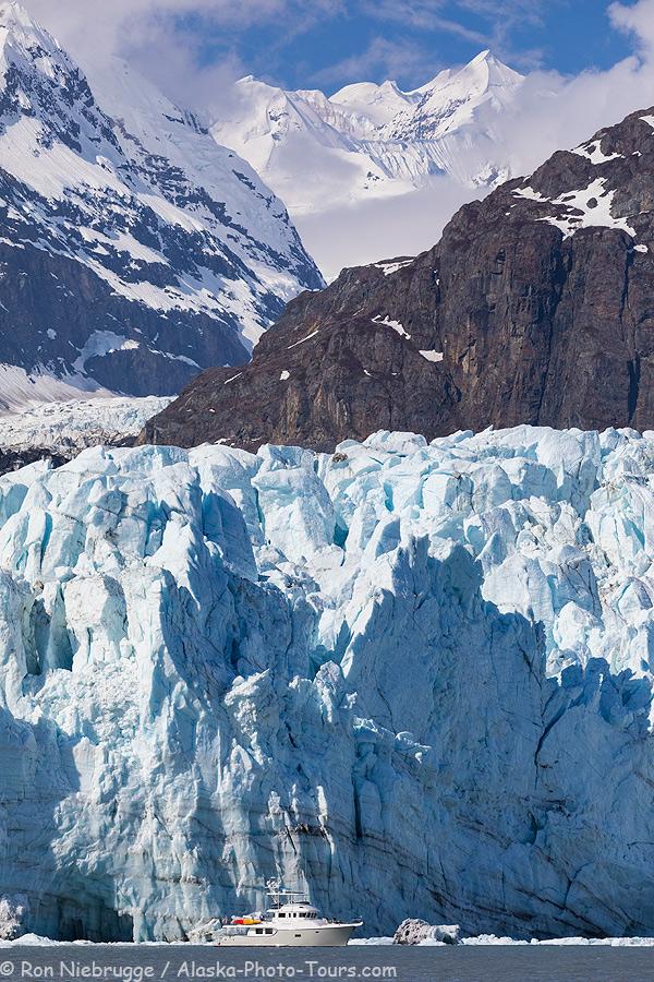 Margerie Glacier, Glacier Bay National Park, Alaska.