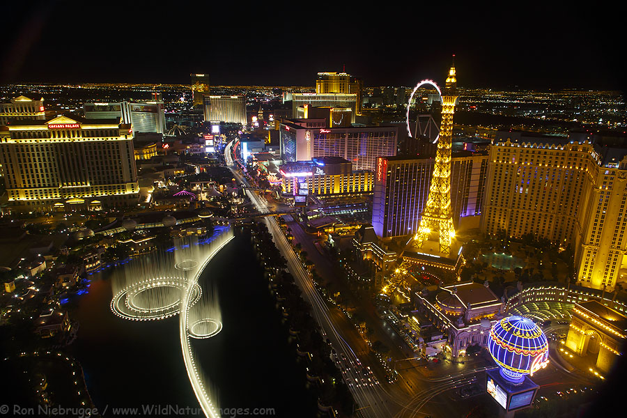 The Strip, Las Vegas, Nevada.