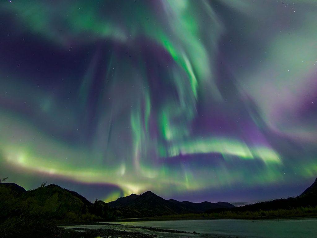 Northern Lights, Alaska Brooks Range, Alaska.