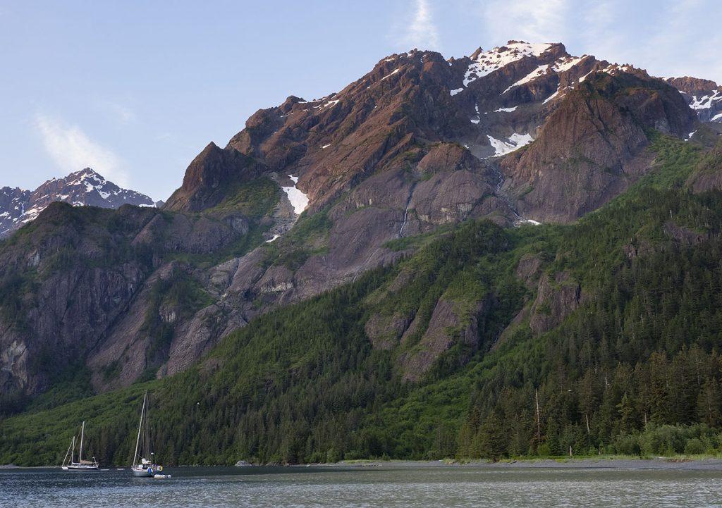 Thumb Cove, near Seward, Alaska.